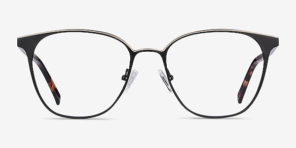 Azimut Noir Acetate-metal Montures de lunettes de vue