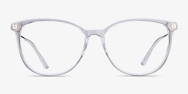 Nebulous Clear Acetate-metal Eyeglass Frames