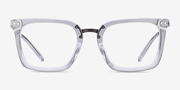 Poise Transparence Acetate-metal Montures de lunettes de vue