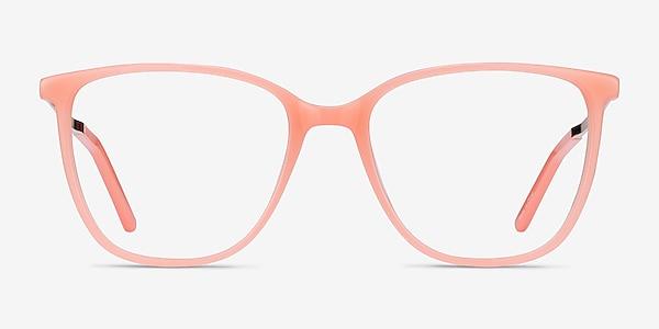 Aroma Coral Acetate-metal Eyeglass Frames