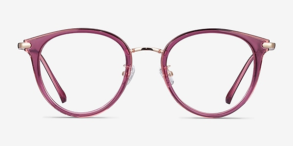 Hollie Cassis Plastic-metal Eyeglass Frames