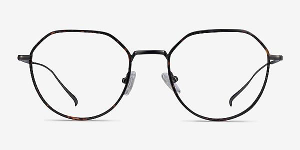 Huxley Tortoise  Gunmetal Metal Eyeglass Frames