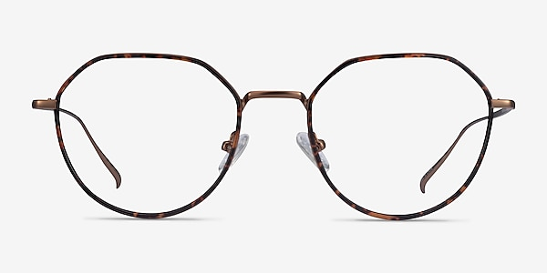 Huxley Tortoise  Bronze Métal Montures de lunettes de vue