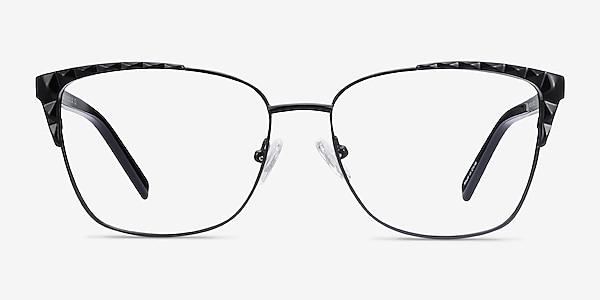 Signora Black Acetate-metal Eyeglass Frames