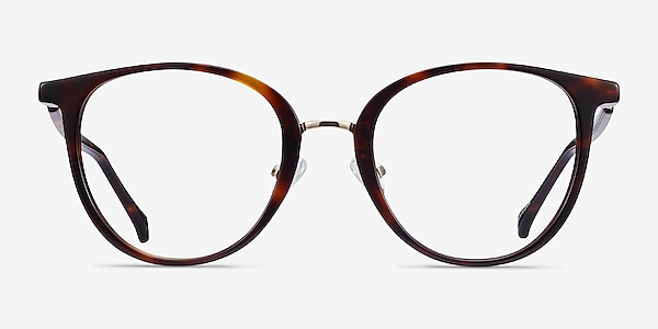 Shelby Tortoise Acetate-metal Eyeglass Frames