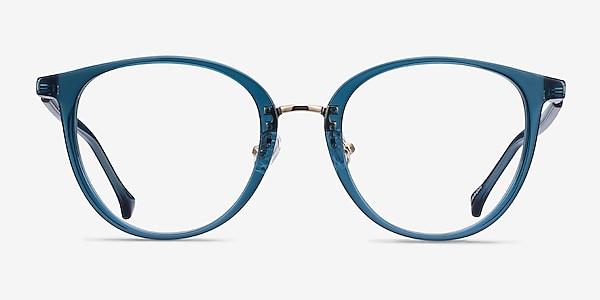 Shelby Teal Acetate-metal Eyeglass Frames