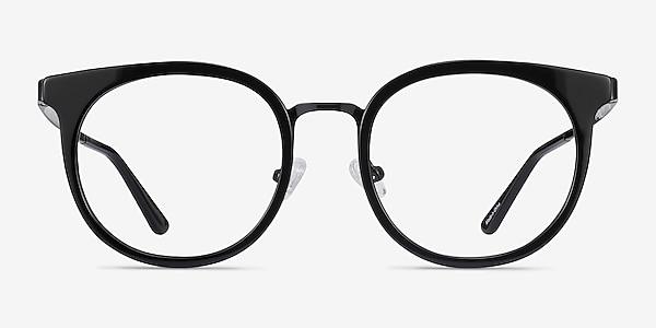 Murphy Black Acetate-metal Eyeglass Frames