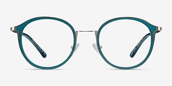 Colman Green Acetate-metal Eyeglass Frames