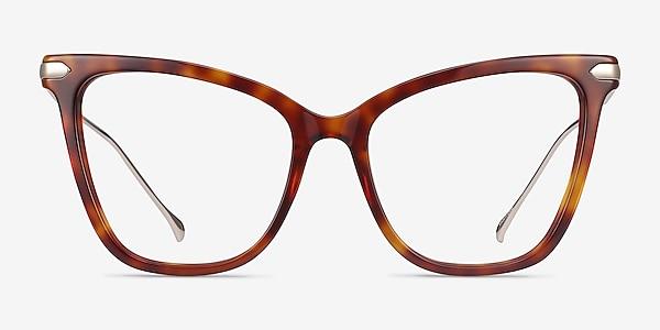 Domy Tortoise Acetate-metal Eyeglass Frames