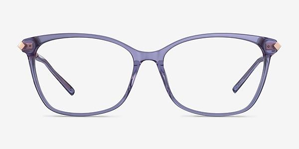 Ashley Violet Acetate-metal Montures de lunettes de vue