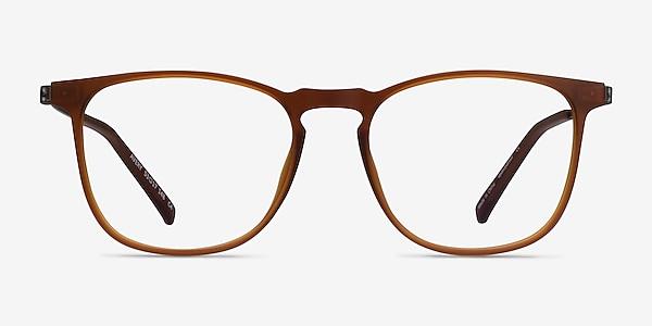 Avery Marron Plastic-metal Montures de lunettes de vue