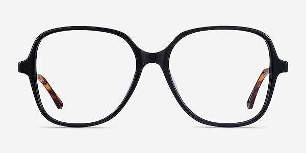 Corey Noir Acetate-metal Montures de lunettes de vue