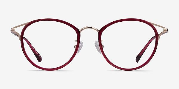 Dazzle Raspberry Acetate-metal Eyeglass Frames