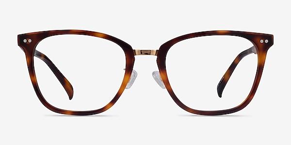 Biblio Tortoise Acetate-metal Eyeglass Frames