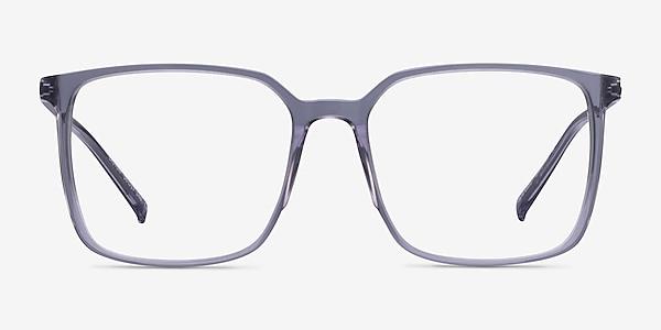 Easton Clear Gray Acetate-metal Eyeglass Frames