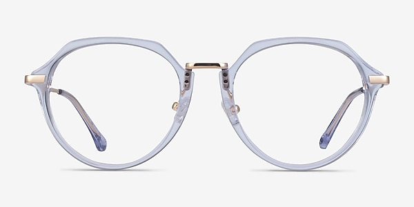Tamara Clear Blue Acetate Eyeglass Frames