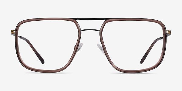 Cassian Brown Bronze Acétate Montures de lunettes de vue