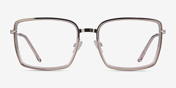 Remi Champagne Gold Acétate Montures de lunettes de vue