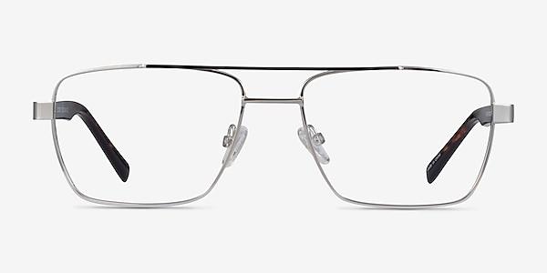 Colton Silver, Clear Blue & Tortoise Acétate Montures de lunettes de vue