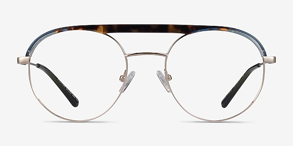 Volition Gold &Tortoise Acetate-metal Eyeglass Frames