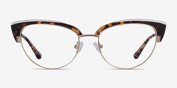 Essential Tortoise & Gold Acetate-metal Montures de lunettes de vue