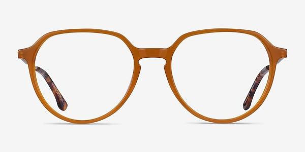 World Orange Acetate Eyeglass Frames