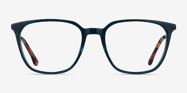 Souvenir Clear Teal Light Gold Acétate Montures de lunettes de vue