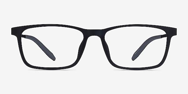 Rebus Matte Navy Black Metal Eyeglass Frames