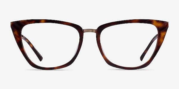 Trenta Tortoise Gold Acetate Eyeglass Frames