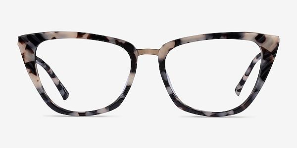 Trenta Ivory Tortoise Gold Acetate Eyeglass Frames