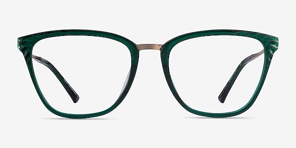 Azur Clear Green Acetate Eyeglass Frames