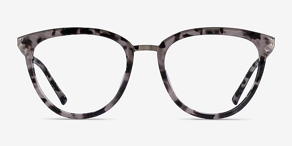 Momentous Gray Tortoise Acetate Eyeglass Frames