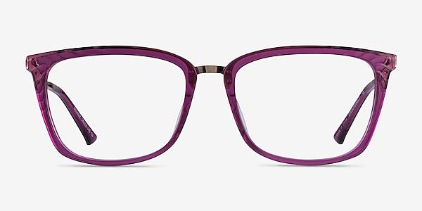 Grande Purple Gold Acetate Eyeglass Frames