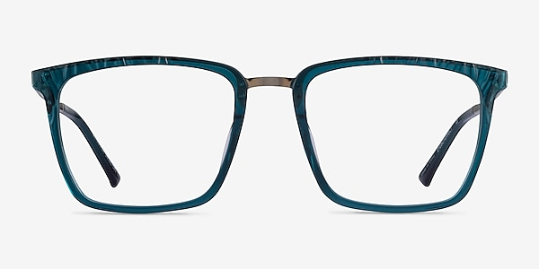 Metaphor Teal Acetate Eyeglass Frames