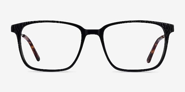 Venti Black Acetate Eyeglass Frames