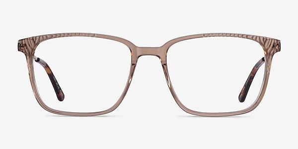 Venti Clear Brown Acétate Montures de lunettes de vue