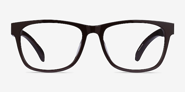 Reserve Brown & Dark Wood Acetate Eyeglass Frames