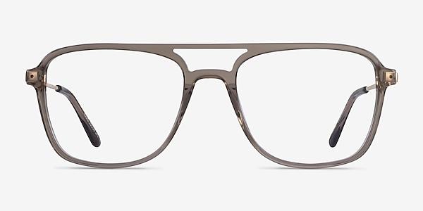 Eddie Clear Gray Acétate Montures de lunettes de vue
