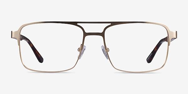 Gustave Gold Tortoise Acétate Montures de lunettes de vue