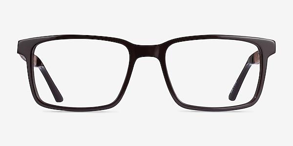 Symbiosis Marron Acétate Montures de lunettes de vue