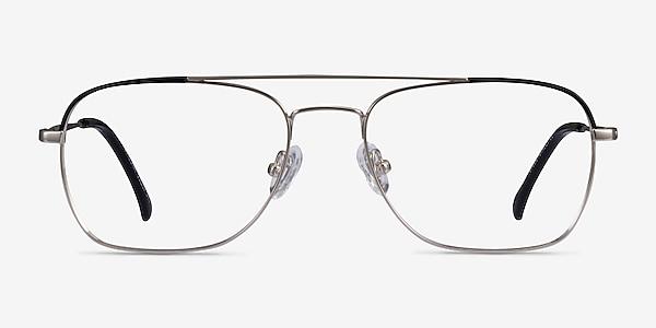 Arizona Silver Black Acétate Montures de lunettes de vue