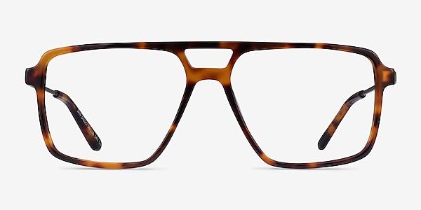 San Diego Tortoise Silver Acétate Montures de lunettes de vue