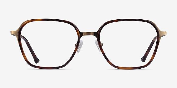 Atami Tortoise Matte Gold Acetate Eyeglass Frames