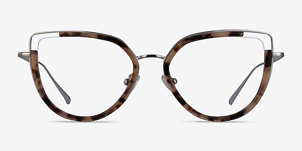 Koyo Ivory Tortoise Silver Acétate Montures de lunettes de vue