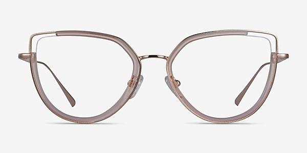 Koyo Champagne Gold Acetate Eyeglass Frames
