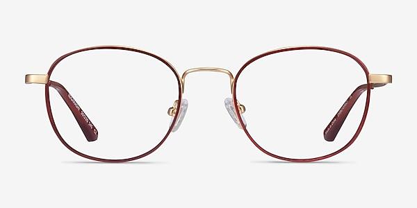 Kogarashi Brown Gold Acétate Montures de lunettes de vue
