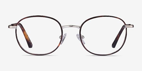 Otaku Tortoise Silver Acétate Montures de lunettes de vue