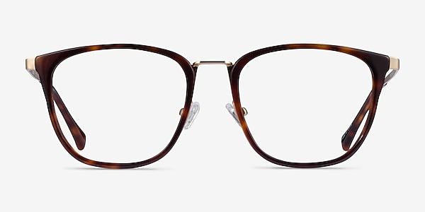 Utamaro Tortoise Gold Acetate Eyeglass Frames