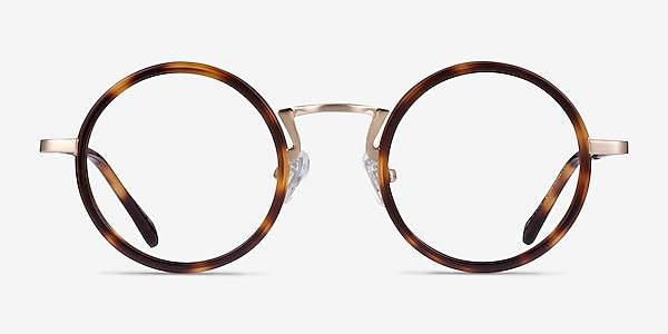 Nagoya Tortoise Gold Acétate Montures de lunettes de vue