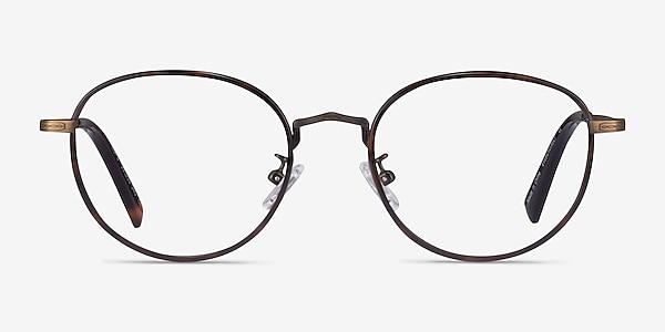 Kofu Tortoise Coffee Acétate Montures de lunettes de vue